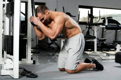 To do push-ups and abs, we have many very effective variables for a dynamic workout routine.
