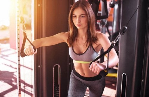 Machines offer a safer way to perform exercises.