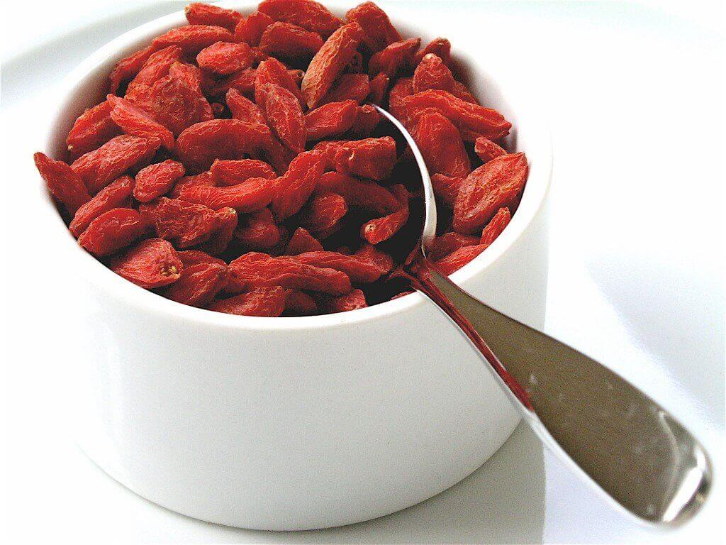Goji berries are good, among other things, for weight loss.