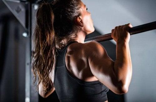 Certain exercises require a pronation grip.
