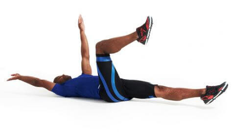 The dead bug is a complete and effective exercise for the abs.
