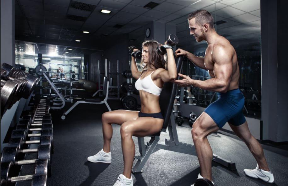deltoid muscles dumbbell