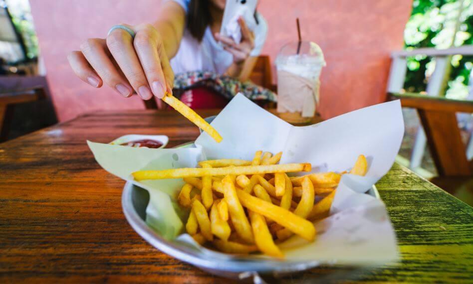 trans fat fries