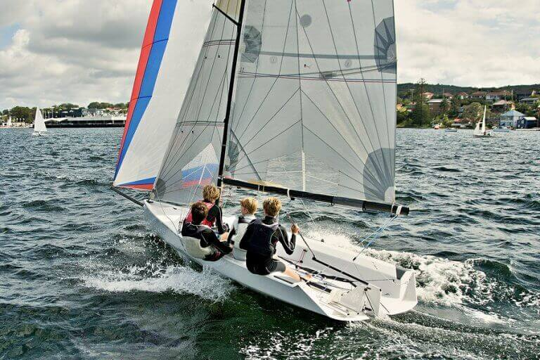 Competitive sailing is one of the most expensive sports in the world