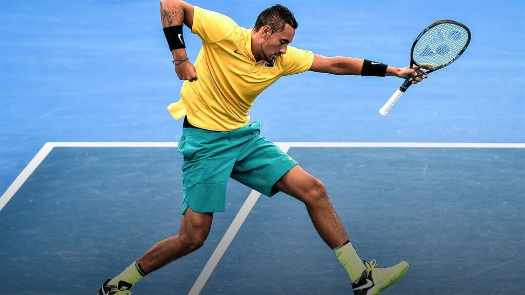 Nick Kyrgios, one of the young promises of tennis.