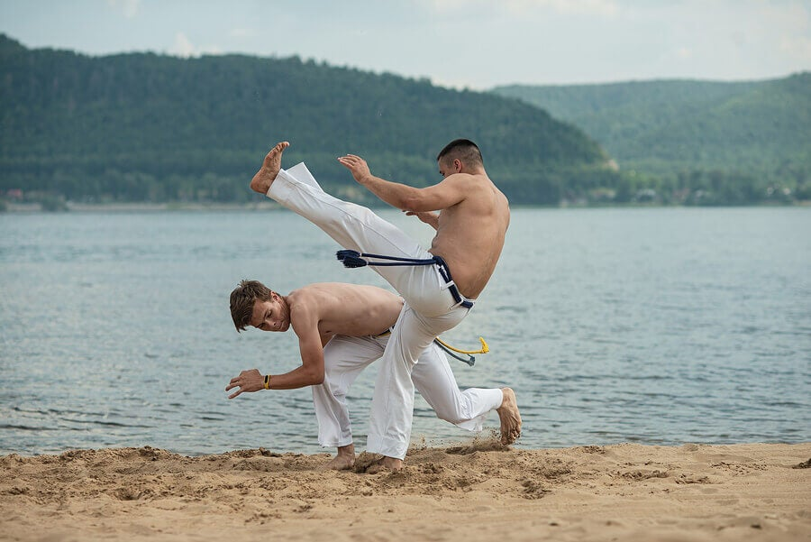 Sharp weapons in martial arts are used to fight