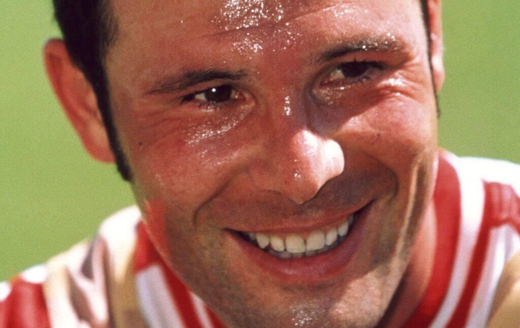 Close image of Marc Bosman smiling.