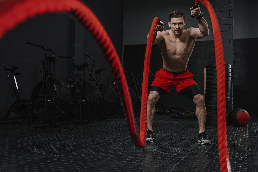 Battle Rope Workouts: Our Favorite CrossFit Combos