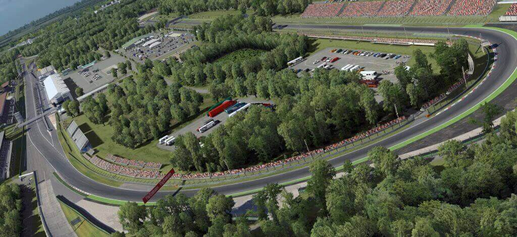 Monza racetrack which is described as an older Formula One Racetrack
