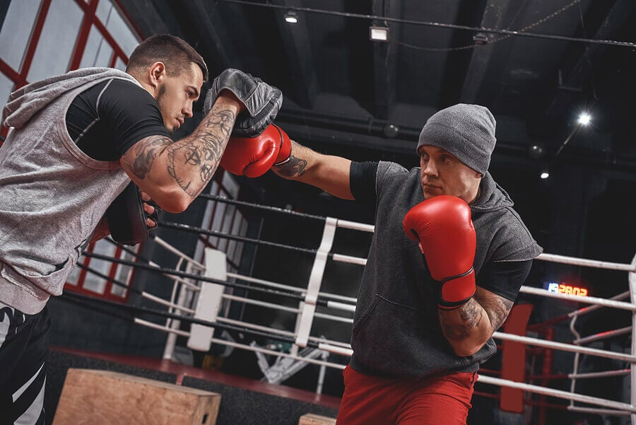 Boxing is a very effective physical activity, because of the number of muscles that your practice demands.