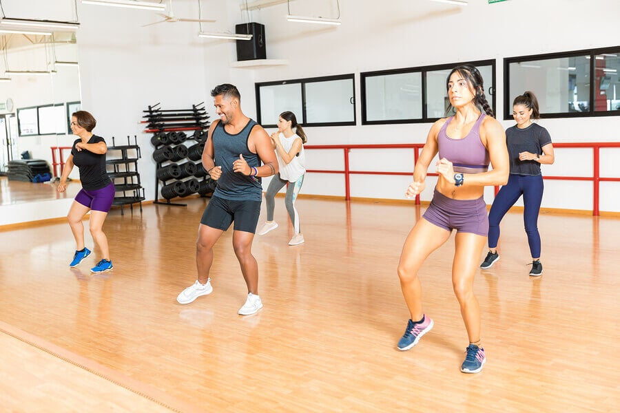Photo of people doing Bokwa Fitness, described in the article.