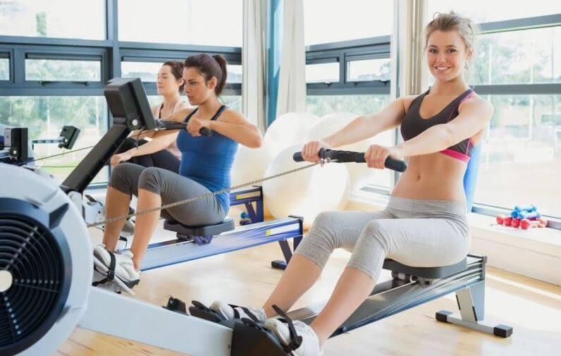gym equipment rowing