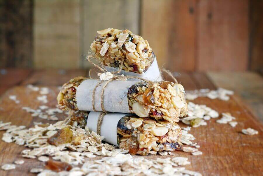Protein bars berry