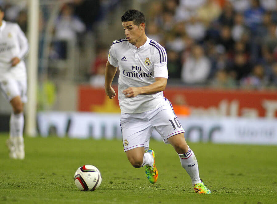 James Rodríguez is another of the figures that has gone through Portuguese football.