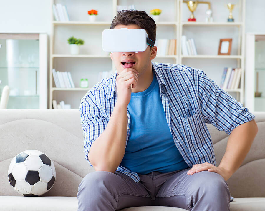 Virtual reality can be a revolution for sport spectators.