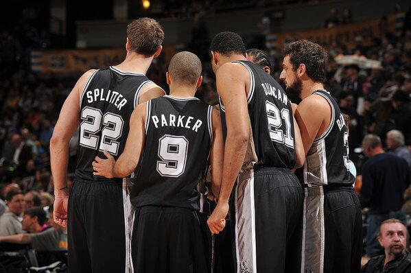 NBA teams spurs