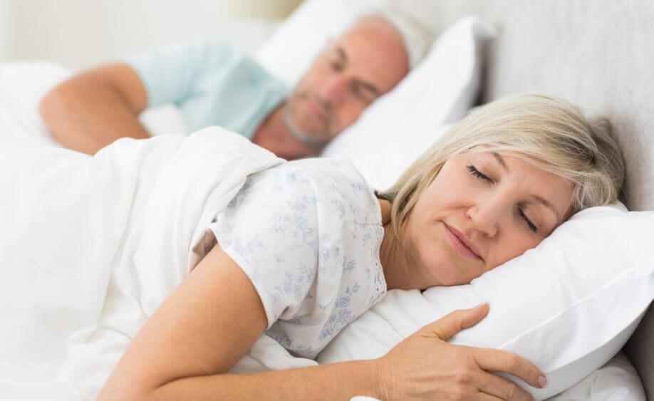 aging sleep