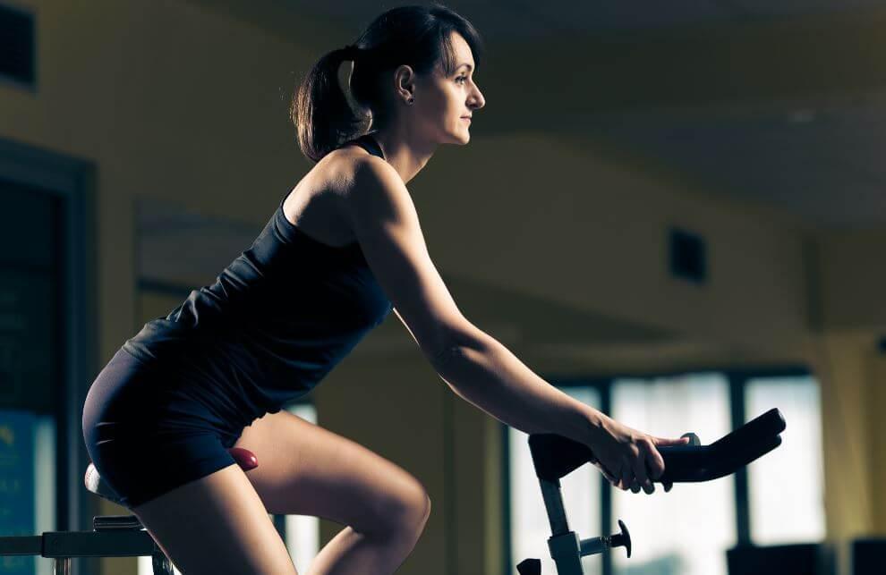 exercise bike routine
