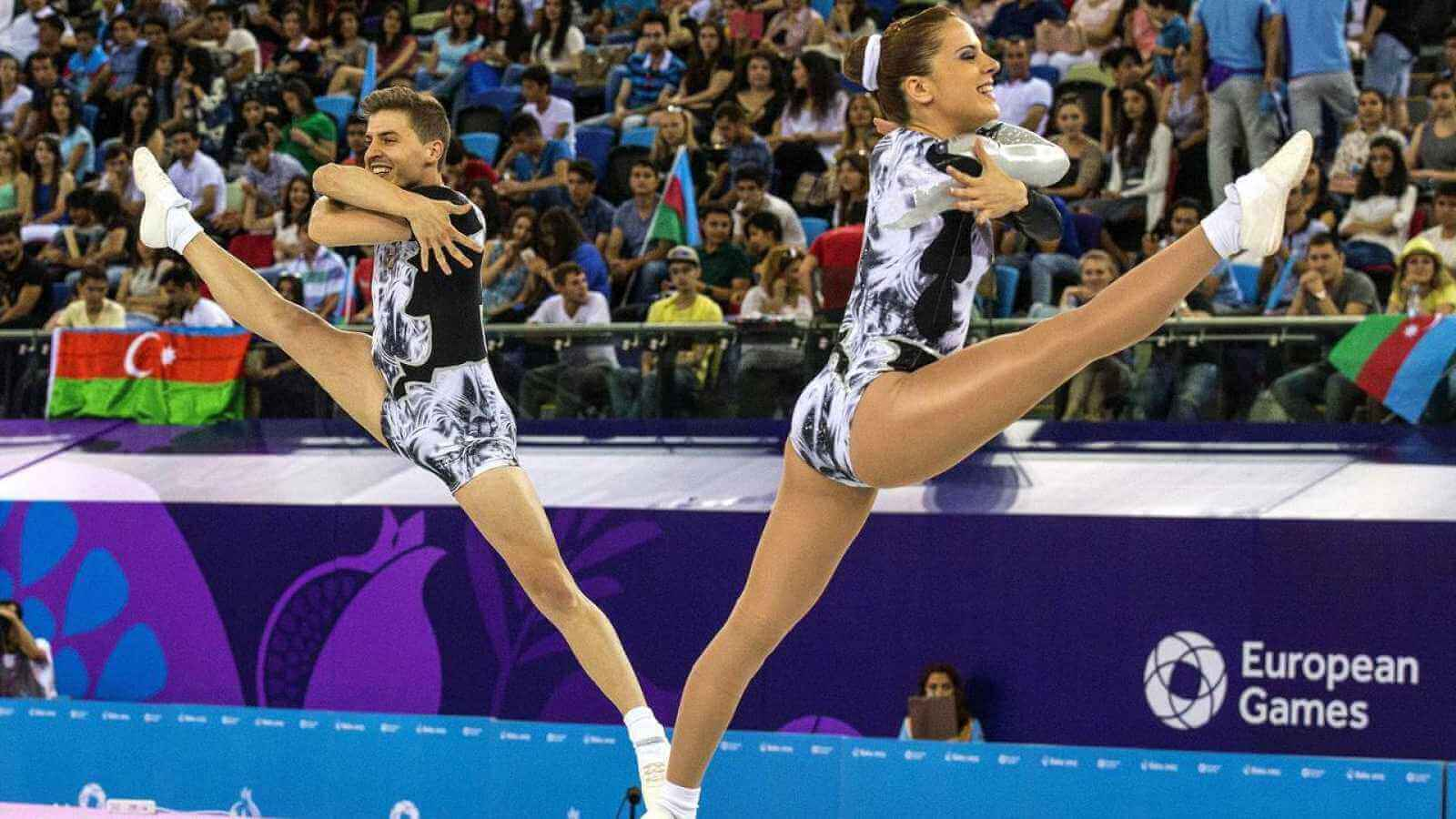 gymnastics aerobic