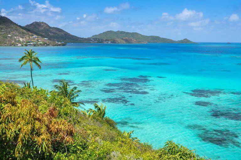 The beautiful crystaline water of Isla de Providencia