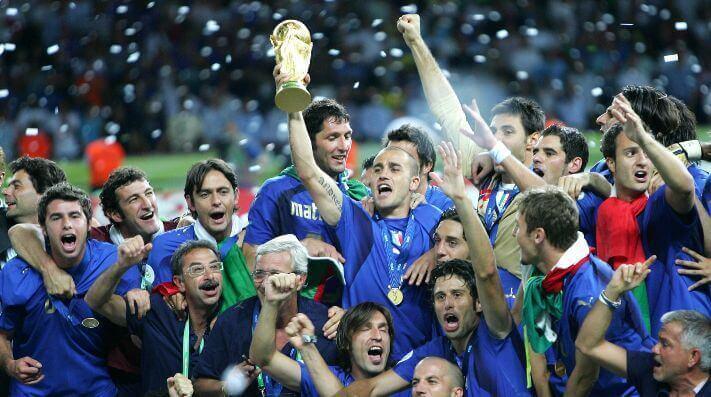national soccer teams Italy