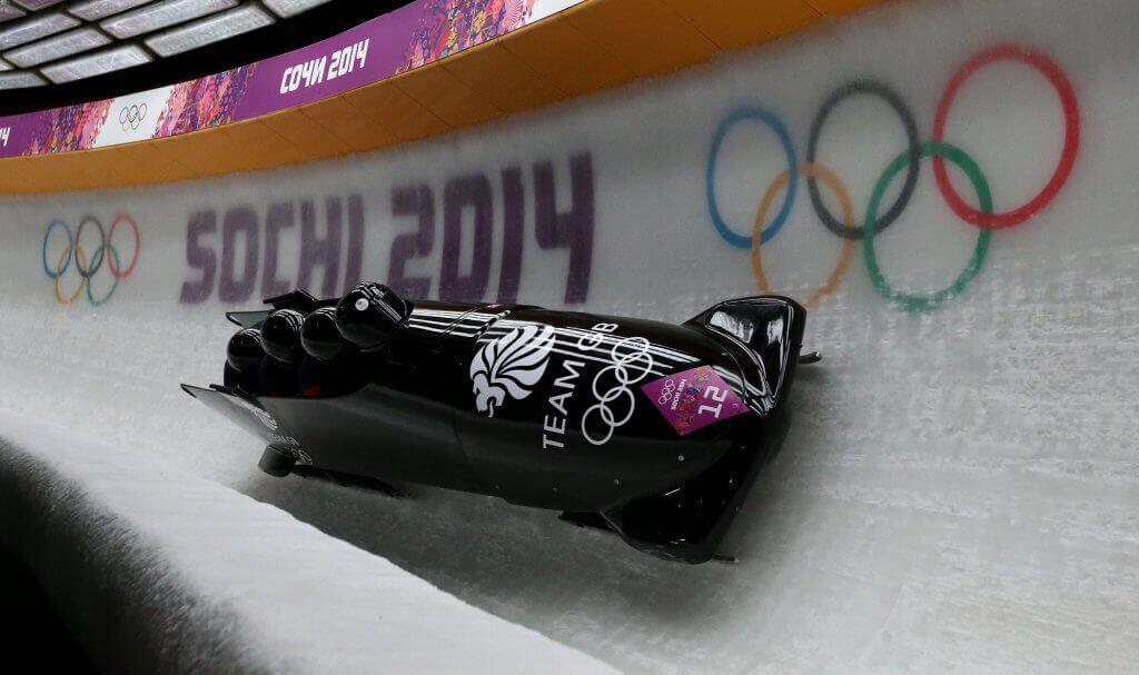 winter sport bobsleigh