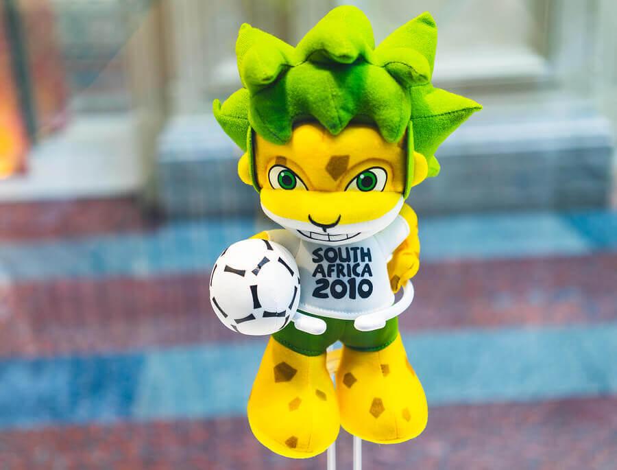 world cup mascot zakumi