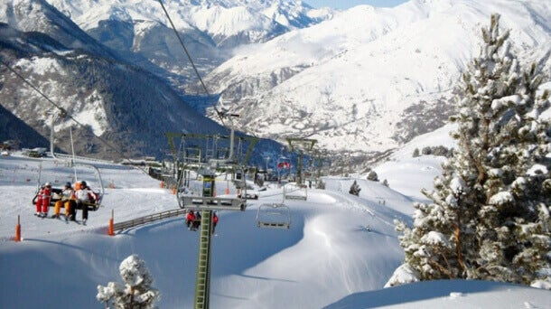Baqueira Beret is one of the best legal ski slopes in Spain.