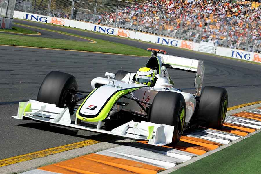 The Brawn BGP 001 achieved glory in its first season of competition.