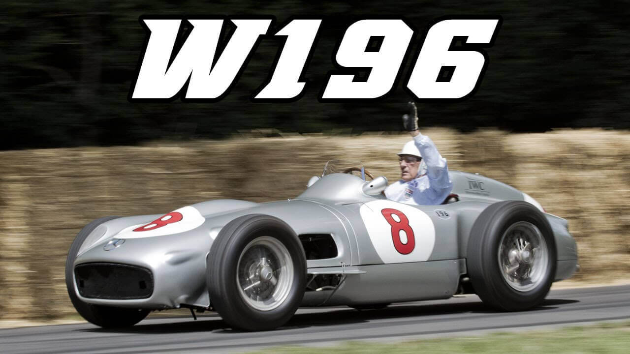 Mercedes de Fangio, one of the best Formula 1 in history.