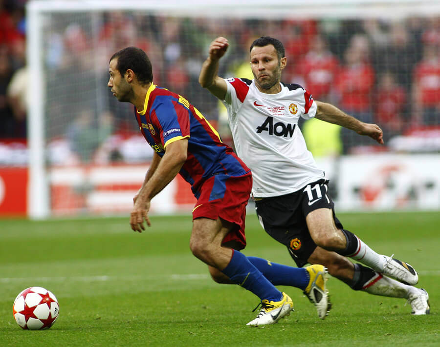 Ryan Giggs is one of those players who played in a single team his entire career.