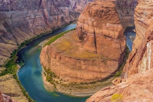 Colorado River and the Grand Canyon.
