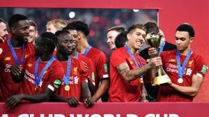 Liverpool, the last World Cup champions.