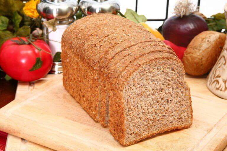 A loaf of whole wheat bread is an example of what people would eat back in history before obesity was an epidemic
