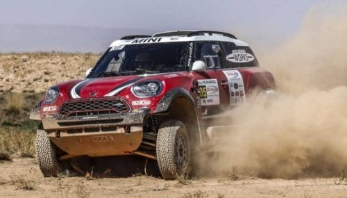 The Dakar Rally has changed its route over the years.