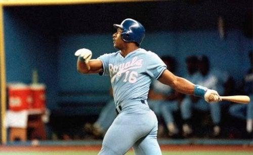 Vincent Jackson swinging a bat.