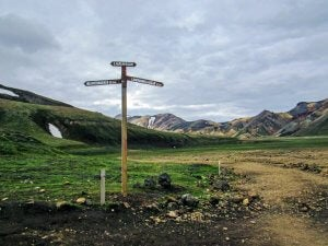 Iceland has another one of the best hiking trails.