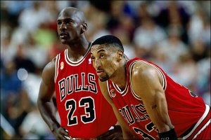 Michael Jordan and Scottie Pippen were one of the best sports duos of all time.