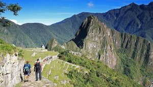 One of the best hiking trails is in Peru.