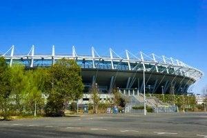 The Ajinomoto Stadium.