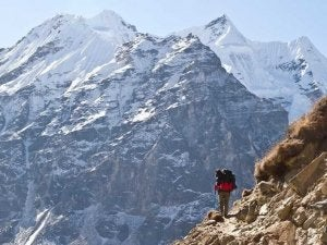 The Great Himalaya Trail in Nepal.