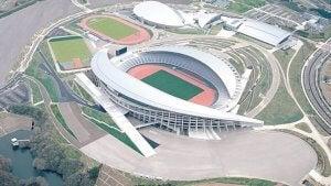 Miyagi Stadium is one of the soccer stadiums for Tokyo 2020.