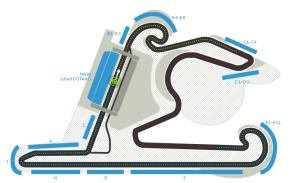 The Shanghai circuit.