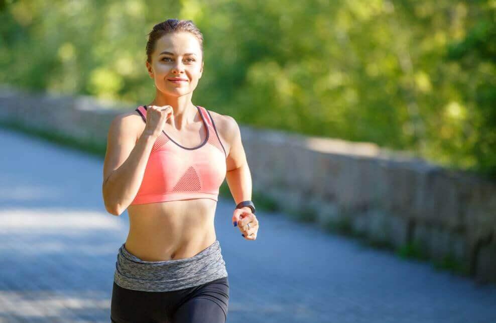 The benefits of running marathons.