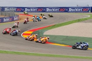 Motorland's corkscrew is one of the most famous MotoGP championship curves.