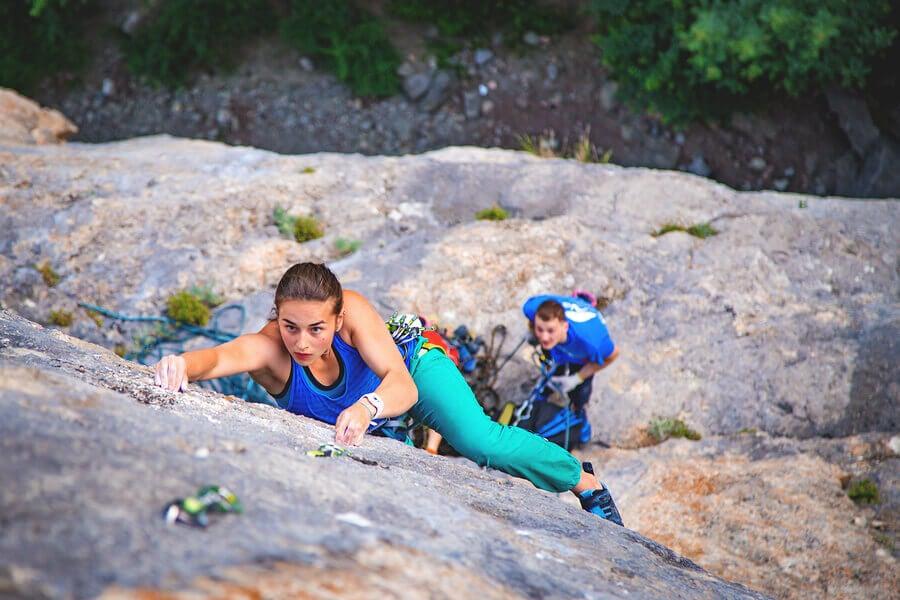 Rock Climbing: a Technical and Strategic Sport