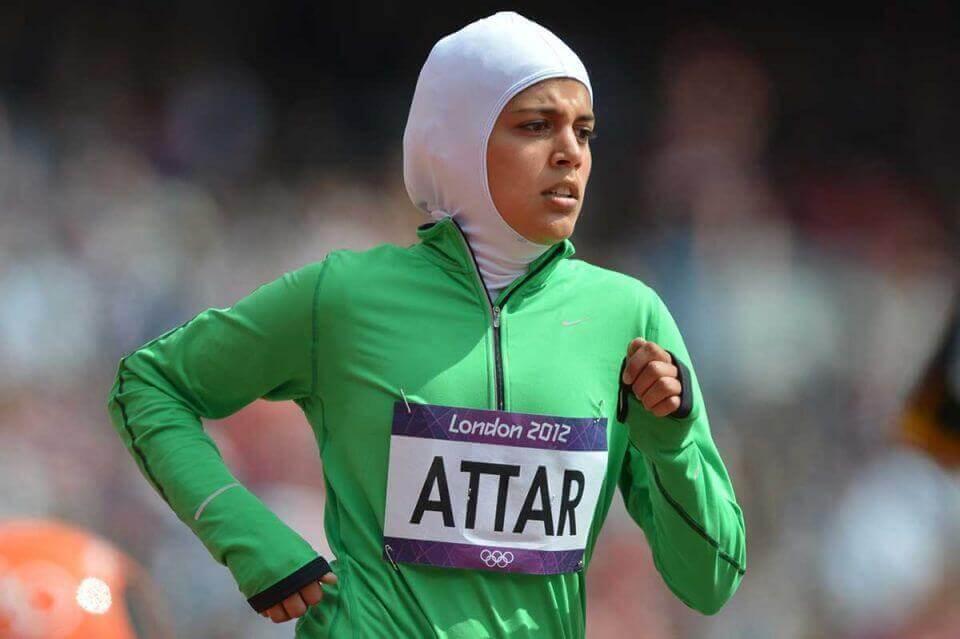 Sarah attar muslim athlete