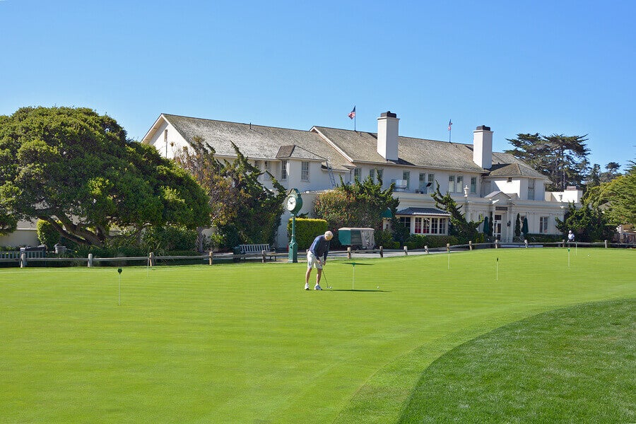 The US Open: the Golf Tournament on Father's Day