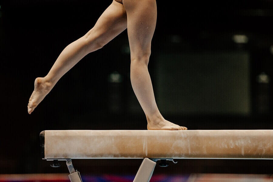 There are 4 categories in women's gymnastics.