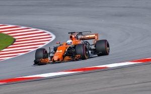 A McLaren Formula One car.